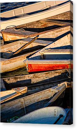 Row Row Row Your Boat Canvas Print by Jeff Sinon