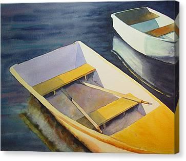 Rowboats Canvas Print by Sarah Buell  Dowling