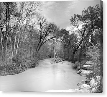 Canvas Print featuring the photograph Rowlett Creek by Darryl Dalton