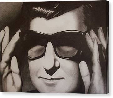 Roy Orbison Canvas Print - Roy by Amber Stanford