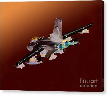 Royal Air Force Tornado Gr4  Canvas Print by Paul Fearn