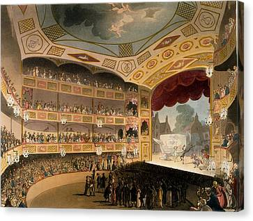 Royal Circus From Ackermanns Repository Canvas Print