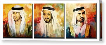 Royal Collage Canvas Print by Corporate Art Task Force
