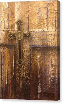 Royal Cross Canvas Print by Cecilia Putter