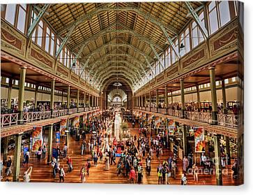 Royal Exhibition Building IIi Canvas Print