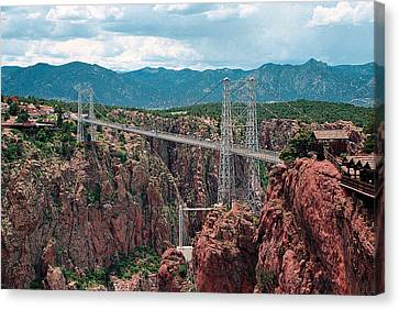 Royal Gorge Bridge Canvas Print