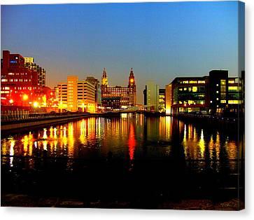 Royal Liver Building Liverpool  Canvas Print
