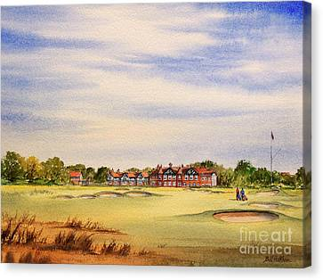 Royal Lytham And St Annes Golf Course Canvas Print