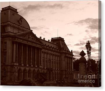 Royal Palace Brussels Canvas Print