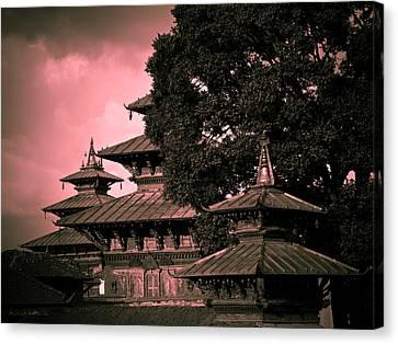 Tibetan Canvas Print - Royal Palace by Nila Newsom