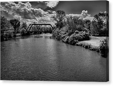 Royal River No.2 Canvas Print