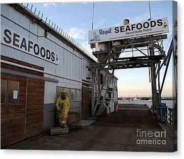 Royal Seafoods Monterey Canvas Print