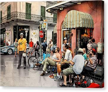 Royal Street Jazz Canvas Print