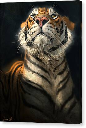 Royalty Canvas Print by Aaron Blaise