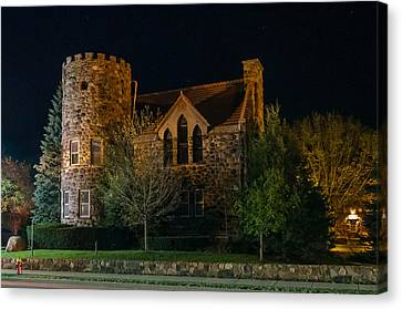 Roycroft Chapel Canvas Print by Guy Whiteley