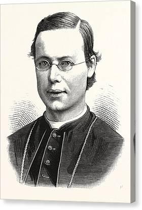 Rt. Rev. Michael A. Corrigan, D.d., 1839 - 1902 Canvas Print by American School