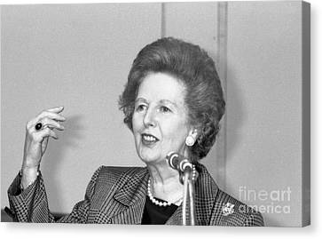 Rt.hon. Margaret Thatcher Canvas Print