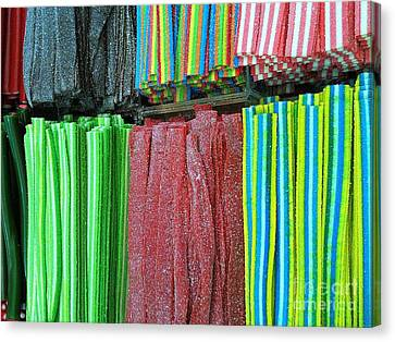 Rubber Candy  Canvas Print by Noa Yerushalmi
