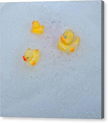 Rubber Ducks Canvas Print by Joana Kruse
