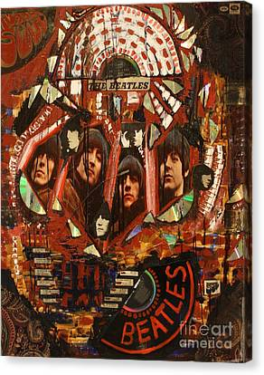 Rubber Soul Canvas Print by Michael Kulick