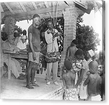 Sociology Canvas Print - Rubber Trade In Africa by Library Of Congress