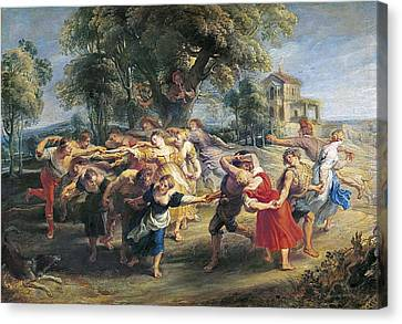 Rubens, Peter Paul 1577-1640. A Peasant Canvas Print by Everett