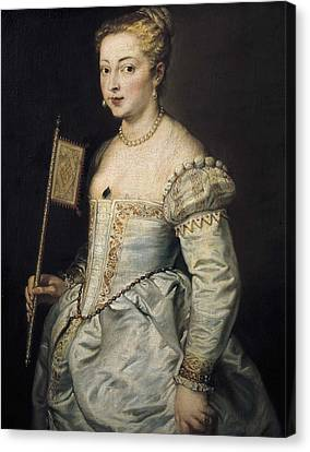 Rubens, Peter Paul 1577-1640. A Woman Canvas Print by Everett