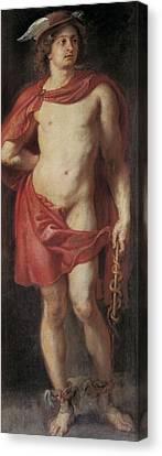Rubens, Peter Paul 1577-1640. Mercury Canvas Print by Everett