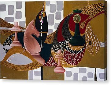 Rubinstein-lasker Canvas Print