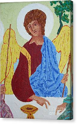 Rublev Angel Canvas Print by Phillip Castaldi