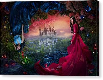Ruby Canvas Print by Cassiopeia Art