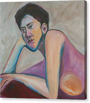 Rude Awakening Canvas Print by Esther Newman-Cohen