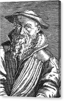 Reform Canvas Print - Rudolf Gwalther (1519-1586) by Granger