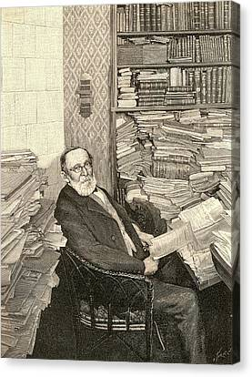 Rudolph Virchow Canvas Print by Universal History Archive/uig