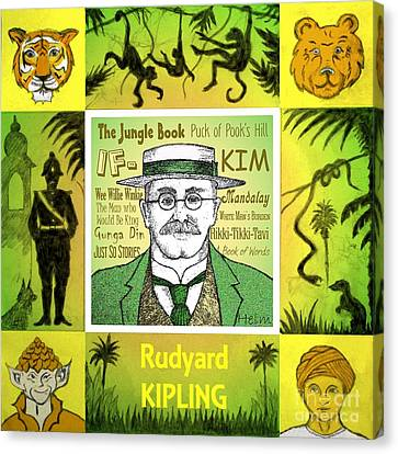Rudyard Kipling Canvas Print by Paul Helm