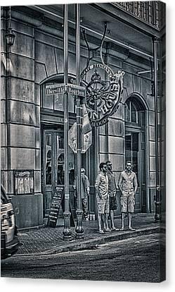 Rue Bourbon  Canvas Print