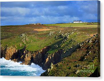 Rugged Cliffs Northeast Of Lands End Canvas Print