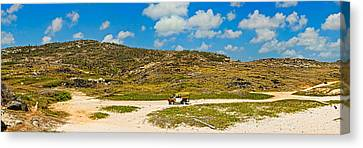 Rugged Eastern Side Of An Island, Aruba Canvas Print by Panoramic Images