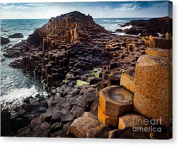 Rugged Giant's Causeway Canvas Print