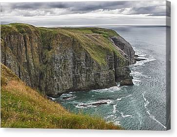 Canvas Print featuring the photograph Rugged Landscape by Eunice Gibb