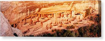 Ruins, Cliff Palace, Mesa Verde Canvas Print by Panoramic Images