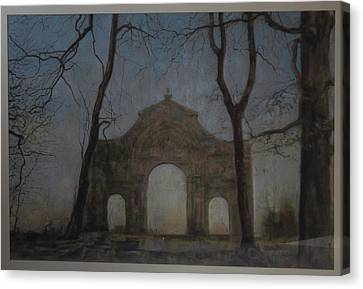 Ruins In A Place Called Heaven Gate Canvas Print