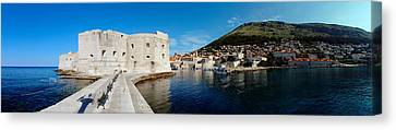 Ruins Of A Building, Fort St. Jean Canvas Print