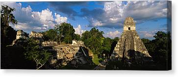 Ruins Of An Old Temple, Tikal, Guatemala Canvas Print by Panoramic Images