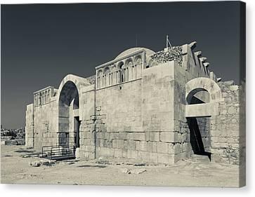 Jordan Canvas Print - Ruins Of The Umayyad Palace, Amman by Panoramic Images