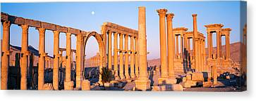 Ruins, Palmyra, Syria Canvas Print by Panoramic Images