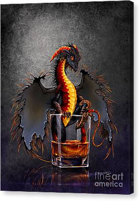 Rum Dragon Canvas Print by Stanley Morrison