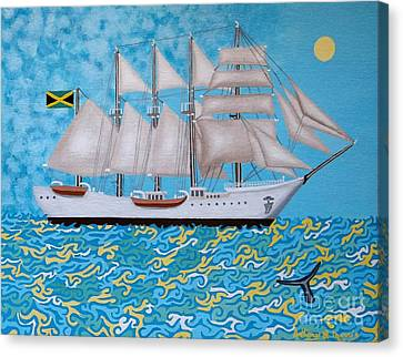 Rum Runner Canvas Print by Anthony Morris