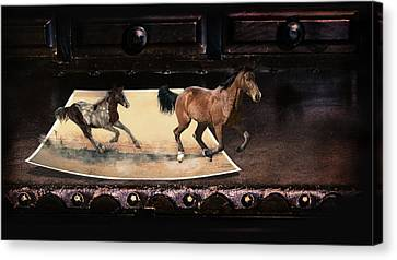 Run To Reality  Canvas Print by Ronel Broderick