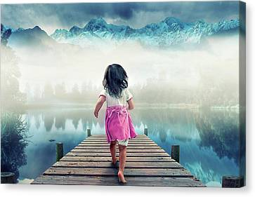 Runaway Canvas Print by Muhammad Munir